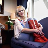 Nederland, Hengelo , 16 februari 2012..Zangeres televisiepresentatrice Marga Bult.Foto:Jean-Pierre Jans