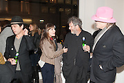TIM NOBLE; DAISY BATES; MALCOLM VENVILLE; CHRIS HANLEY, Mandala for Crusoe, Exhibition of work by Francesco Clemente. Blain/Southern. Hanover Sq. London. 29 November 2012