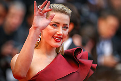 """Amber Heard attends the screening of """"Pain And Glory (Dolor Y Gloria/ Douleur Et Glorie)"""" during the 72nd annual Cannes Film Festival on May 17, 2019 in Cannes, France. Photo by Shootpix/ABACAPRESS.COM"""