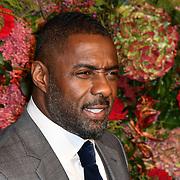 Idris Elba,Winston Elba,Isan Elba,Sabrina Dhowre attends Evening Standard Theatre Awards at Theatre Royal, on 18 November 2018, London, UK.