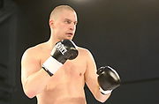 Boxing: Cruiserweight, Heavyweight, Adrian Granat (SWE) - Andreas Kapp (AUT), Hamburg, 16.05.2014<br /> Andrian Granat (SWE) <br /> ©Torsten Helmke