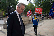 Michael Gove MP, Chancellor of the Duchy of Lancaster  arrives at the Cabinet office in Whitehall, London, United Kingdom on 19th August 2019.