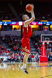 NORMAL, IL - February 26: Nate Kennell during a college basketball game between the ISU Redbirds and the Bradley Braves on February 26 2020 at Redbird Arena in Normal, IL. (Photo by Alan Look)