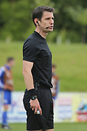 Referee Halil Umut Meler of Turkey during the UEFA European Under 17 Championship 2018 match between Bosnia and Republic of Ireland at Stadion Bilino Polje, Zenica, Bosnia and Herzegovina on 11 May 2018. Picture by Mick Haynes.