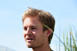 06.06.2015, Circuit Gilles Villeneuve, Montreal, CAN, FIA, Formel 1, Grand Prix von Kanada, Qualifying, im Bild Nico Rosberg (GER) Mercedes AMG F1 // during Qualifyings of the Canadian Formula One Grand Prix at the Circuit Gilles Villeneuve in Montreal, Canada on 2015/06/06. EXPA Pictures © 2015, PhotoCredit: EXPA/ Sutton Images/ Mark<br /> <br /> *****ATTENTION - for AUT, SLO, CRO, SRB, BIH, MAZ only*****