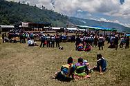 Il palco del caracol di Morelia. Per gli zapatisti l'intrattenimento e le arti sono il centro della vita quotidiana.
