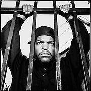 Ice Cube (O'Shea Jackson).  Photographed by Brian Smale for Rolling Stone Magazine.