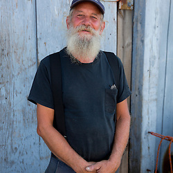 Dave Green is a commercial clammer in Scarborough, Maine.