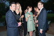 ED TAYLOR; OPHELIA HOHLER;CHLOE DELEVIGNE; ED GRANT, The Cartier Chelsea Flower show dinner. Hurlingham club, London. 20 May 2013.