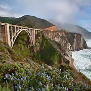 Bixby Bridge - Big Sur, CA -  HDR