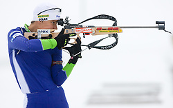 Teja Gregorin at training session of Slovenian biathlon team before new season 2009/2010,  on November 16, 2009, in Pokljuka, Slovenia.   (Photo by Vid Ponikvar / Sportida)