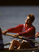 Bled, Slovenia, YUGOSLAVIA. GBR LM8+. Richard METCALF,  1989 World Rowing Championships, Lake Bled. [Mandatory Credit. Peter Spurrier/Intersport Images]