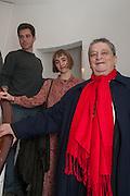 TOM ROSENTHAL; EVA ROSENTHAL; SIR NORMAN ROSENTHAL, Juergen Teller: Woo, Institute of Contemporary Arts, London. 22 January 2012
