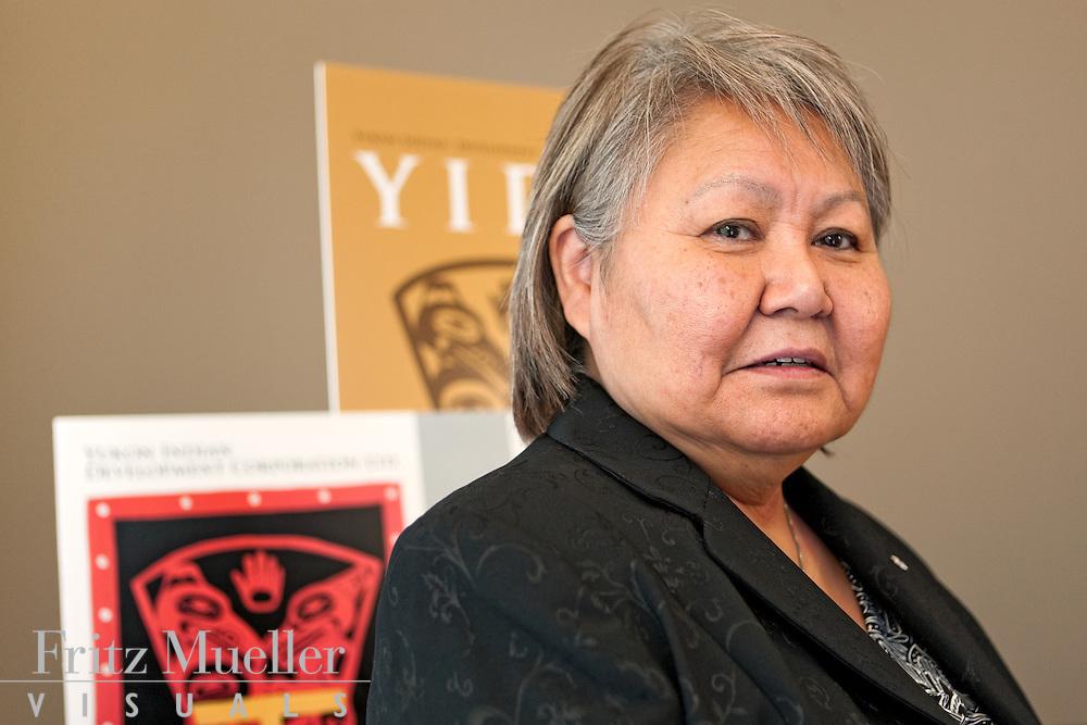 Judy Gingell of Yukon Indian Development Corporation in Whitehorse
