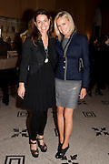 YANA PEEL; BODIL BLAINE, Outset dinner 2011.  Organised by Yana Peel supported by Swarovskito raise funds for the V+A to starts its contemporary design collection. V & A. London. 23 March 2011. -DO NOT ARCHIVE-© Copyright Photograph by Dafydd Jones. 248 Clapham Rd. London SW9 0PZ. Tel 0207 820 0771. www.dafjones.com.