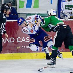 20110206: SLO, AUT, Ice Hockey - EBEL League, 46th Round