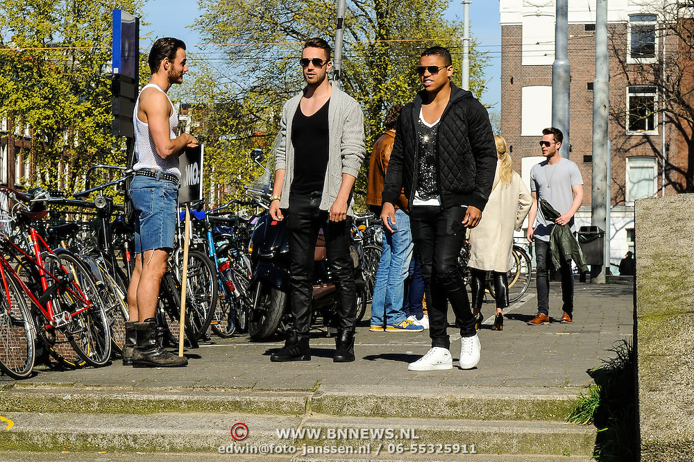 NLD/Amsterdam/20150420 - Presentatie L'Homo 2015, Jeffrey Wammes en partner