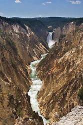 Lower Yellowstone Falls and the Grand Canyon of the Yellowstone River