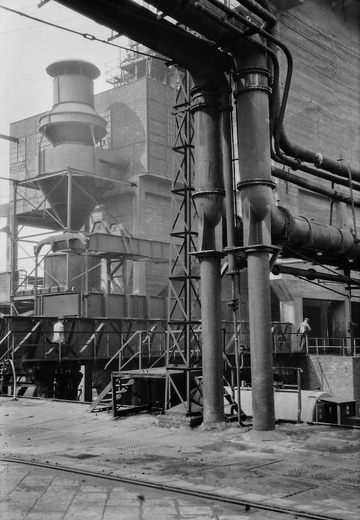 Coke drying and cooling station, Steinkohlenzeche Viktoria Mathias, Essen, 1928