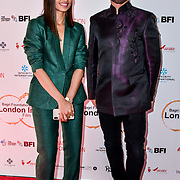 Cary Sawhney and Radhika Apte is a actress arrives at London Indian Film Festival world premiere of Anubhav Sinha's 'Article 15' at Picturehouse Central, on 20 June 2019, London , UK.