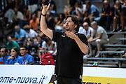 DESCRIZIONE : 3° Torneo Internazionale Geovillage Olbia Sidigas Scandone Avellino - Brose Basket Bamberg<br /> GIOCATORE : Andrea Trinchieri<br /> CATEGORIA : Allenatore Coach Schema Mani<br /> SQUADRA : Brose Basket Bamberg<br /> EVENTO : 3° Torneo Internazionale Geovillage Olbia<br /> GARA : 3° Torneo Internazionale Geovillage Olbia Sidigas Scandone Avellino - Brose Basket Bamberg<br /> DATA : 05/09/2015<br /> SPORT : Pallacanestro <br /> AUTORE : Agenzia Ciamillo-Castoria/L.Canu