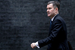 © Licensed to London News Pictures. 12/03/2019. London, UK. Justice Secretary David Gauke arrives on Downing Street for a meeting of the Cabinet. MPs will get a second meaningful vote on Prime Minister Theresa May's Brexit deal this evening. Photo credit: Rob Pinney/LNP