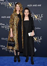 Jaya Harper, Laura Dern attend the premiere of Disney's 'A Wrinkle In Time' at the El Capitan Theatre on February 26, 2018 in Los Angeles, California. Photo by Lionel Hahn/AbacaPress.com