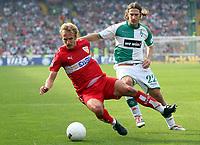 v.l. Daniel Bierofka, Torsten Frings Bremen<br /> Bundesliga SV Werder Bremen - VfB Stuttgart<br /> Norway only