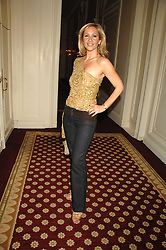 TANYA BRYER at a party to celebrate the launch of The Essential Party Guide held at the Mandarin Oriental Hyde Park, 66 Knightsbridge, London on 27th March 2007.<br />