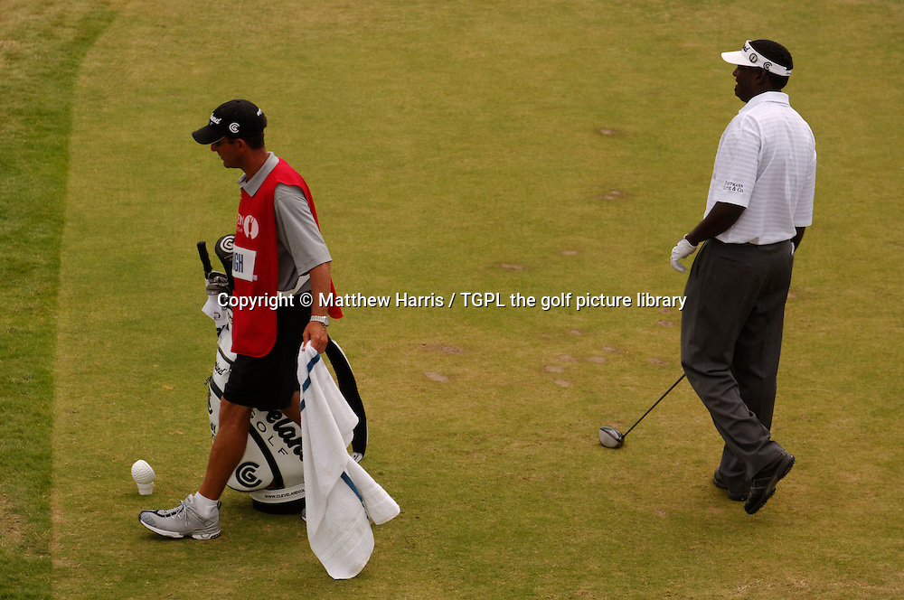 VJ SINGH (FIJ) during fourth round The Open Championship 2005,St Andrews Old Course,St Andrews,Fife,Scotland.