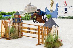 Geir Gulliksen, (NOR), Edesa S Banjan - Team & Individual Competition Jumping Speed - Alltech FEI World Equestrian Games™ 2014 - Normandy, France.<br /> © Hippo Foto Team - Leanjo De Koster<br /> 02-09-14