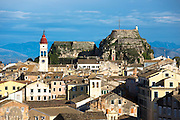Kerkyra, Corfu Town, Agios Spyridon church, Old Fort - The Paleo Frourio in Corfu, , Greece