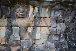 Relief of Garuda, Indian Mythology, Half-Human Half-Eagle, Kills Snakes