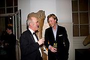 CHARLES SAUMERAZ SMITH; JAMES HOLLAND-HIBBERT, Royal Academy Schools fundraising Annual dinner and auction. Royal academy Schools. Burlington St. London.  24 March 2009
