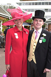 LORD & LADY DALMENY at Royal Ascot on <br /> 21st June 2000.OFP 6<br /> © Desmond O'Neill Features:- 020 8971 9600<br />    10 Victoria Mews, London.  SW18 3PY <br /> www.donfeatures.com   photos@donfeatures.com<br /> MINIMUM REPRODUCTION FEE AS AGREED.<br /> PHOTOGRAPH BY DOMINIC O'NEILL