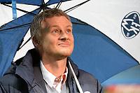 22/10/15 UEFA EUROPA LEAGUE GROUP STAGE<br /> MOLDE FK v CELTIC<br /> AKER STADIUM - NORWAY<br /> Molde FK manager Ole Gunnar Solskjaer