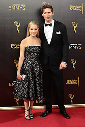 .Joanne Froggatt, James Cannon attend  2016 Creative Arts Emmy Awards - Day 1 at  Microsoft Theater on September 10th, 2016  in Los Angeles, California.Photo:Tony Lowe/Globephotos