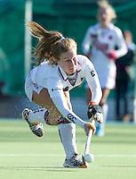 AMSTELVEEN - Amsterdam speelster Marili Visch tijdens de hoofdklasse hockeywedstrijd tussen de vrouwen van Amsterdam en Terriers (4-0). COPYRIGHT KOEN SUYK