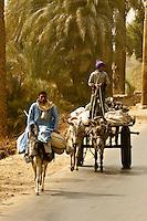 A village near Luxor, Egypt