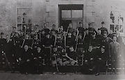 A group of hurlers assembled prior to a tour of the United States to promote Gaelic Games in 1888 - the so called American Invasion. As a result, the All-Ireland championships for that year were abandoned.