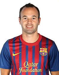24.08.2011, Barcelona, ESP, FC Barcelona Fotocall, im Bild Portrait von Andres Iniesta, EXPA Pictures © 2011, PhotoCredit: EXPA/ Alterphotos/ ALFAQUI/ Gregorio