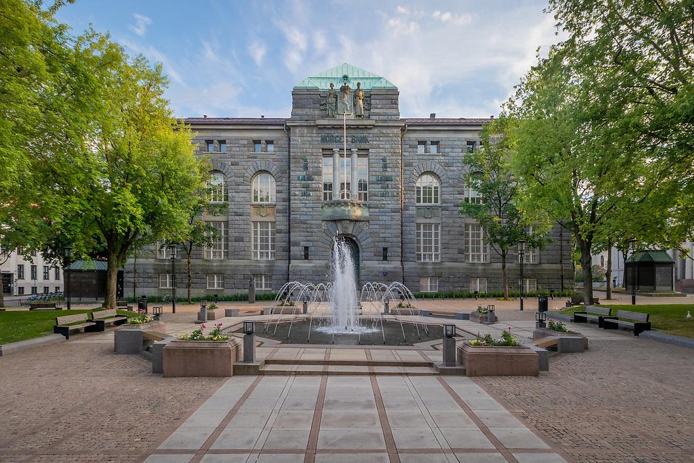 Museet for samtidskunst holder til i den tidligere Norges Bank-bygningen på Bankplassen i Oslo.