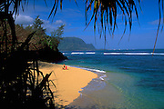 Hideaway Beach, Princeville, Hanalei Bay, Kauai, Hawaii, USA<br />