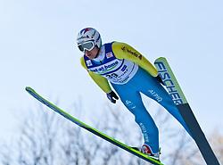 05.02.2011, Heini Klopfer Skiflugschanze, Oberstdorf, GER, FIS World Cup, Ski Jumping, Probedurchgang, im Bild Simon Ammann (SUI) , during ski jump at the ski jumping world cup Trail round in Oberstdorf, Germany on 05/02/2011, EXPA Pictures © 2011, PhotoCredit: EXPA/ P. Rinderer
