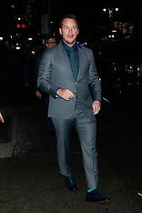 Chris Pratt at The Late Show in New YorK - 04 Feb 2019