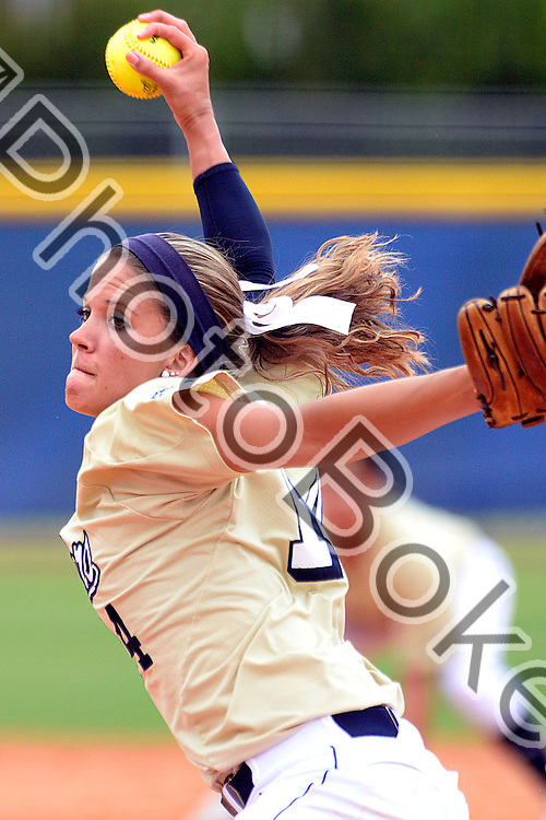 2014 March 29 - FIU's Corrine Jenkins (14). <br /> Florida International University defeated East Carolina, 11-9, in the first game of the series at Feldsberg Field, Miami, Florida. (Photo by: Alex J. Hernandez / photobokeh.com) This image is copyright by PhotoBokeh.com and may not be reproduced or retransmitted without express written consent of PhotoBokeh.com. ©2014 PhotoBokeh.com - All Rights Reserved