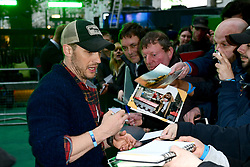 Tom Hardy arriving for the Alien: Covenant Premiere held at the Odeon Leicester Square, London.