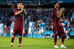 August 1, 2018 - MalmÅ, SVERIGE - 180801 Players of Cluj looks dejected during the UEFA Champions League qualifying match between MalmÅ¡ FF and Cluj on August 1, 2018 in MalmÅ¡..Photo: Mathilda Ahlberg / BILDBYRN / Cop 178  (Credit Image: © Mathilda Ahlberg/Bildbyran via ZUMA Press)