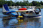 Republic Seabee taxiing at the Seaplane base, Airventure 2017.