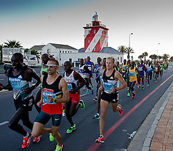 during the 2016 Sanlam Cape Town marathon held in Cape Town, South Africa on the 18th September  2016<br /> <br /> Photo by: John Tee / RealTime Images